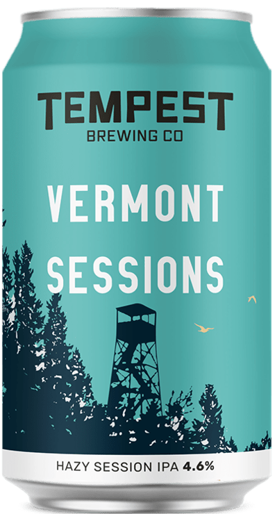 Vermont Sessions Hazy East Coast IPA 330ml Can