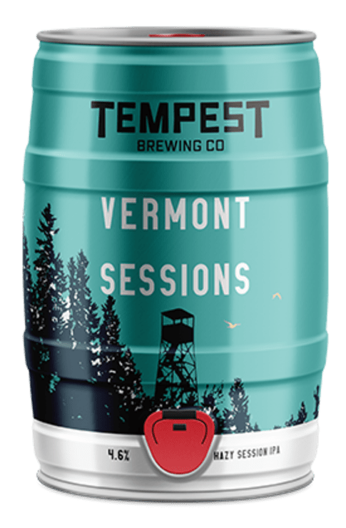 Vermont Sessions Hazy East Coast IPA 5L Mini Keg