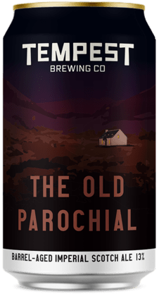 Barrel Aged Old Parochial Scotch Ale 330ml can