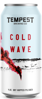 Cold Wave Pilsner 440ml Can