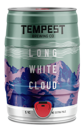Long White Cloud NZ Extra Pale Ale 5l Mini Keg