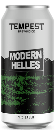 Modern Helles Lager 440ml can
