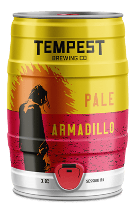 Pale Armadillo West Coast IPA 5L Mini Keg