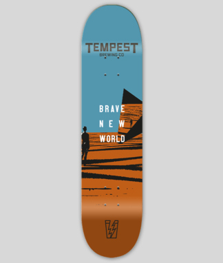 Brave New World Skate Deck